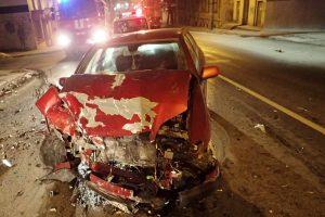 Pasprukęs avarijos kaltininkas rastas visiškai girtas