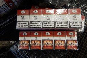 Iš Nemuno ištraukė kelis tūkstančius pakelių kontrabandinių cigarečių
