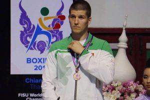 Lietuvos boksininkui – pasaulio studentų čempionato bronza