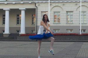Balerina K. Gudžiūnaitė: aš galiu būti Džiuljeta, šokanti gatvės šokius