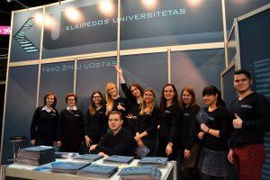 Klaipėdos universitetas – aukštųjų mokyklų parodose