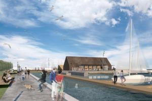 Pristatyti Juodkrantės uosto projektai