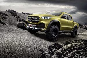 """Mercedes-Benz"" pristatė pirmąjį koncepcinį X klasės pikapą"