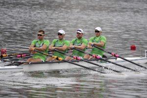 Lietuvos porinė keturvietė nepateko į olimpiados irklavimo varžybų finalą