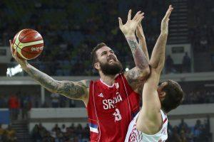 Kroatus pranokę Serbijos krepšininkai – pusfinalyje