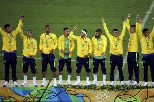 Vyrų futbolo auksą pirmą kartą iškovojo Brazilija