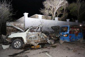 Sprogimas Somalio sostinėje: džihadistai atakavo paplūdimio restoraną, 7 žuvę