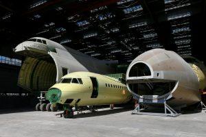 Kinija siekia įsigyti teisę gaminti didžiausią pasaulio lėktuvą