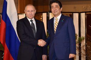 V. Putinas atvyko į Japoniją derėtis dėl Kurilų salų