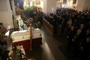 Lenkija atsisveikina su per išpuolį Berlyne žuvusiu sunkvežimio vairuotoju