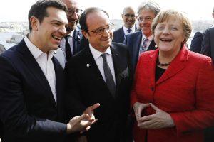 ES lyderius suvienijo nerimas dėl JAV prezidento D. Trumpo politikos