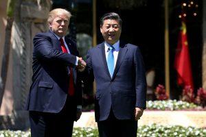 D. Trumpas šiltai priėmė Kinijos lyderį
