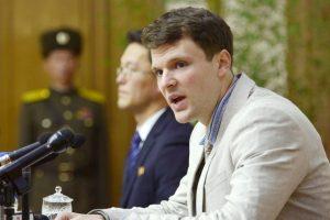 Pchenjanas apie JAV studentą: jis paleistas humanitariniais pagrindais (atnaujinta)