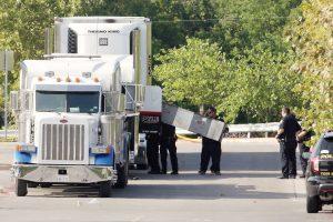 Teksase sunkvežimyje rasti devyni mirę ir 30 leisgyvių migrantų