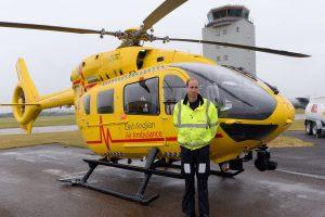 Princas Williamas baigia greitosios pagalbos sraigtasparnio piloto darbą
