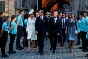 Britanijos ir Belgijos karališkosios šeimos paminėjo Ipro mūšio metines