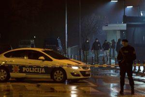 Juodkalnijoje granatą į JAV ambasadą sviedęs vyras susisprogdino