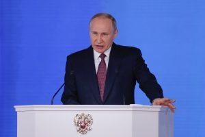 V. Putino metinė kalba: ateinantys metai bus lemiami