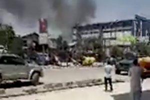 Afganistane – stiprūs sprogimai ir galingas žemės drebėjimas