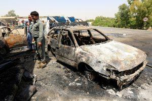 Neramumai rytų Afganistane: per savižudžio išpuolį žuvo mažiausiai 10 žmonių