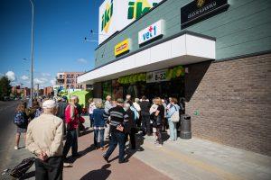 """""""Iki"""" stiprina pozicijas: Vilniuje atidaryta nauja parduotuvė"""