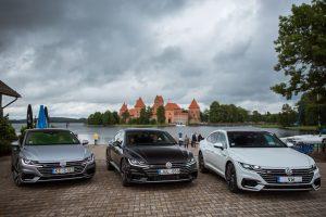 """""""Volkswagen"""" Lietuvoje pristatė savo naująjį flagmaną """"Arteon"""""""