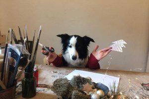 Į  Etmonų kalėdinę mugę kviečia menininkai ir jų šuniukai