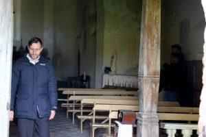 Zapyškio bažnyčioje – vaidybinio filmo scenos
