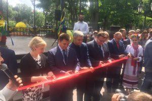 Odesoje prasidėjo Lietuvos dienos