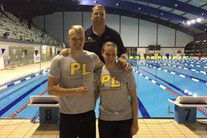 Sėkmingi plaukikų M. Sadausko bei J. Ščerbinskaitės startai Portugalijos sostinėje