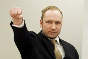 Skerdikas A. B. Breivikas toliau išsidirbinėja