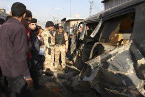 Irake prie kavinės detonavus užminuotam automobiliui žuvo 11 žmonių