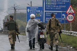 Ukrainos separatistai po vieno vadų nužudymo neigia vidaus nesantaiką