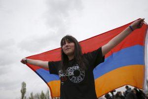 Lietuvoje paminėta Armėnijos nepriklausomybė