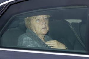 Be Nobelio Taikos premijos likusi A. Merkel pradžiugino Danijos parlamentarą
