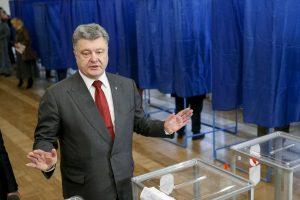 Ukrainos vietos valdžios rinkimuose – susiskaldymas tarp vakarų ir rytų