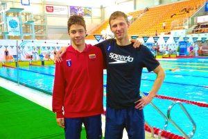 Plaukikas E. Kapočius – trijų rekordų autorius