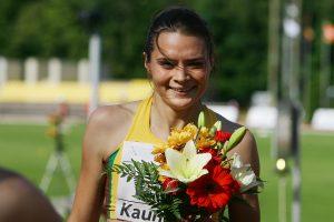 A. Šerkšnienė antrą kartą per dieną pagerino Lietuvos rekordą