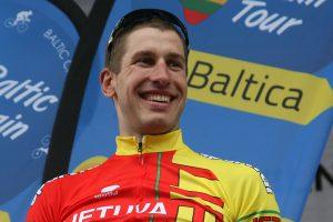 G. Bagdonas dviratininkų lenktynių paskutinį etapą baigė dvyliktas