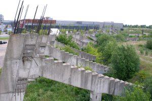 Vietoj nebaigto statyti stadiono Šeškinėje – 100 mln. eurų vertės projektas