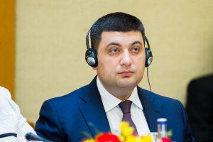 V. Groismanas: turime pasiekti, kad Rusijos kariai paliktų Ukrainą