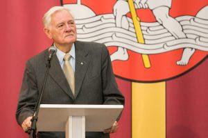 V. Adamkus: tarptautinė visuomenė turi iš Lietuvos imti pavyzdį