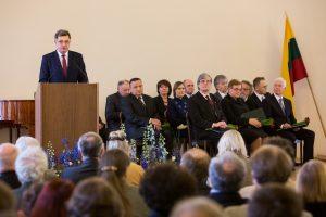 Vilniuje įteiktos septynios mokslo premijos