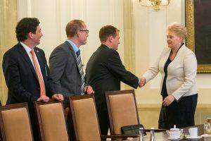 E. Stewartas: JAV bendrovės planuoja plėtrą ir žvalgosi investicijų Lietuvoje