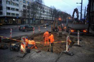 Kauno gatvių remontus stabdo staigmenos