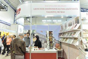 Valdovų rūmai vėl kviečia susitikti Vilniaus knygų mugėje