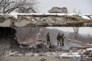 Rytų Ukrainoje numuštas Rusijos karo lėktuvas