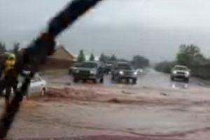 Jutos valstijoje per staigų potvynį žuvo septyni žmonės