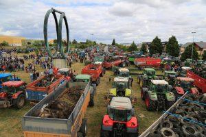 Prancūzijos ūkininkai protestavo prieš krentančias maisto kainas