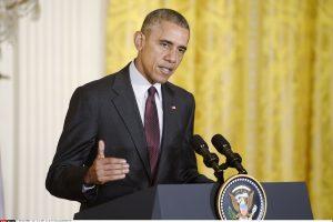 JAV prezidentas nurodė vyriausybei pasiruošti atšaukti sankcijas Iranui